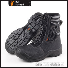 PU/PU Outsole Safety Train Boot with Genuine Leather (SN5144)