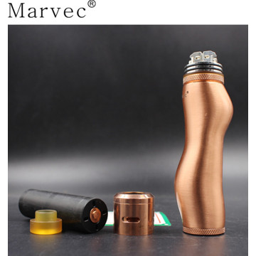 Marvec S mechanical mod e cig vaporizador kit