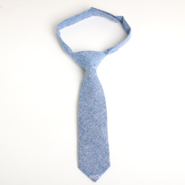 Hook and Loop Cotton Boys Neck Ties for 3 Years Old Kids