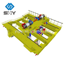 YZ Type 5 ~ 74t Hook Bridge Cast Crane para el taller