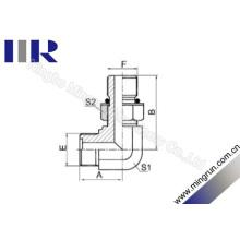 Encaixe de tubo ajustável de macho de cotovelo de 90 graus (1EH9-OG)