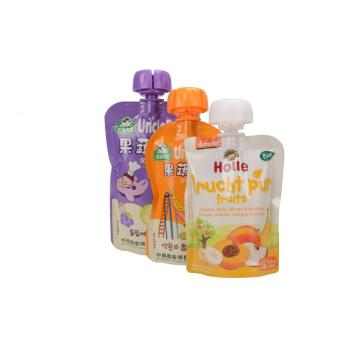 Anti-Chew Spout Food Pouch för baby