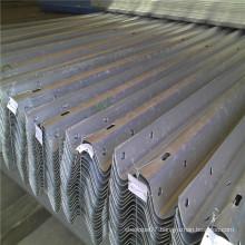 Hot DIP Galvanized Coated W Beam Highway Guardrail Details