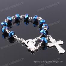 Multicolor 8 milímetros plana cristal moda artesanato religioso