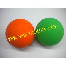Bola de juguetes de goma de silicona para perros