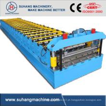 Máquina perfiladeira de perfil de painel de parede de aço leve de alta velocidade, qualidade automática personalizada