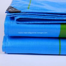 Economy PE Tarpaulin Blue 90gsm