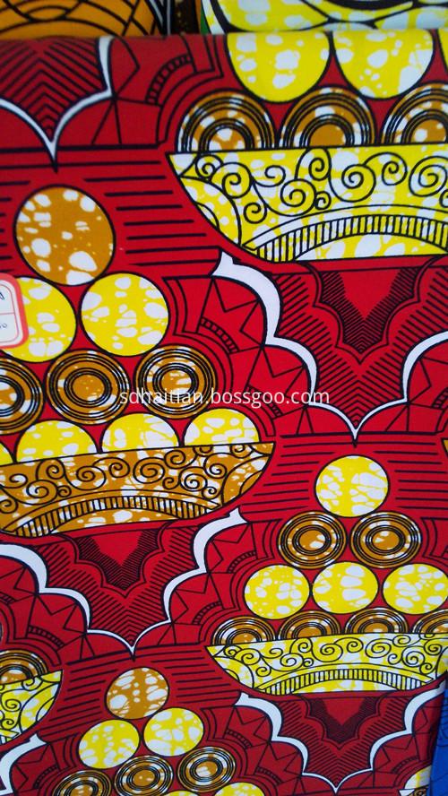 Africa wax fabric