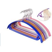 Perchas PVC suspensión doblado de Metal