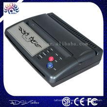 Copiadora termal de la plantilla del tatuaje más nueva copiadora termal del tatuaje de la transferencia del USB