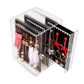 Mode Acryl Schmuck Display Ohrring Aufbewahrungsbox