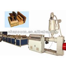 Machine d'Extrusion de WPC (PVC/PP/poudre PE + bois)