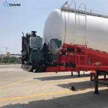 Trailer de tanque de silo de cimento a granel seco