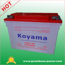 Deep Cycle Tricycle Dry Battery 180ah 12V