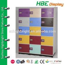 contemporary design waterproof plastic club storage locker