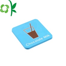 Silikon Square Coasters Decorative for Drink