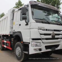 China new 371HP 6*4 HOWO Dump Truck/Tipper 10 wheelers EuroII for sale