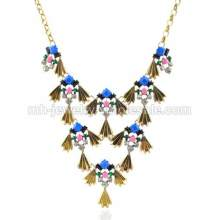 Classical Antique Style Kite Shape Culture Party Necklace