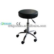 DW-MC204 adjustable nurse stool with wheels in hospital