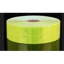 Hoher Glanz-PVC reflektierendes Kristallband für Sicherheits-Kleidung (DFT5203)