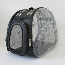 Large Breathable Portable Removable Portable Printing Pet Messenger Bag