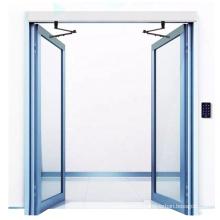 Heavy duty electric double door opener automatic swing door closer with spring return