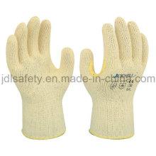 Вырезать устойчивость работы перчатку с подкреплением (K6101)