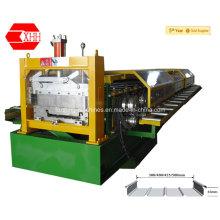 Machine de formage de toit debout et conique