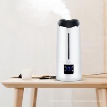 O Desktop da preço de fábrica conduziu a lâmpada capacidade de 6,5 litros Digital Umidificador de ar de névoa ultra-sônico com purificar e temporizador