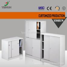 Short sliding door steel filing cabinet