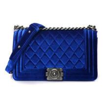 Metal Chain Velet Lady′s Handbag Wzx23131