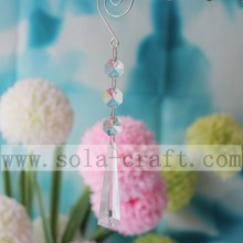 60MM Clear Chandelier Crystal Pendant Drop Gorgeous Wedding Tree Parts For Hotel