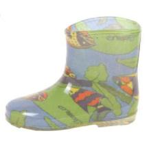 Океан печати подкладки дождя сапоги для ребенка