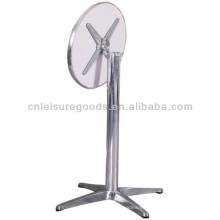 Mesa plegable redonda de aluminio de la mesa 110cm de alto