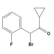 2-Bromo-2- (2-fluorophenyl) -1-Cyclopropylethanone CAS No. 204205-33-4