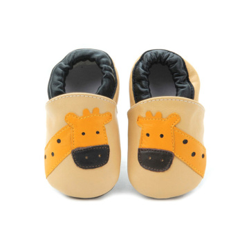 2018 Cute Cartoon Baby Walker Chaussures en cuir souple