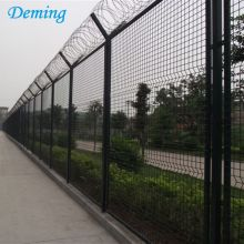 V Top Poedercoating Airport Wire Mesh Fence