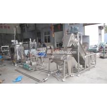 Prix fiable de machines d'usine de traitement orange commerciale d'acier inoxydable de qualité