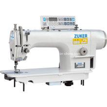 Zuker computador Lockstitch máquina de costura Industrial com ajustador automático (UO ZK9000D-D4)