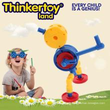 Le meilleur jeu de jouet Plastic Building Blocks Toys for Baby