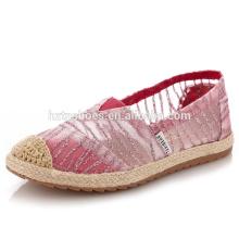Breathable детей повседневная обувь плоская обувь espadrille обувь