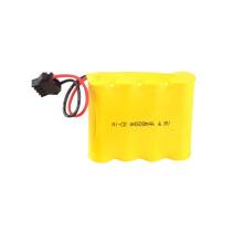 1.2V 400mah AA Ni-Cd paquete de batería recargable 4.8V AA 600