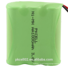 Pkcell 3.6V 1000mAh NI-MH Battery Pack