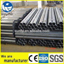 China supplier Bared welded ERW steel pipe for tower cranes