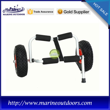 Aluminum boat trailer, Canoe kayak trolley, Anodized frame cart