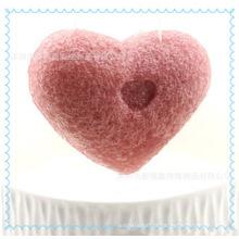 Esponja konjac 100% natural ativada, esponja ecológica de carvão vegetal, esponja konjac de limpeza profunda