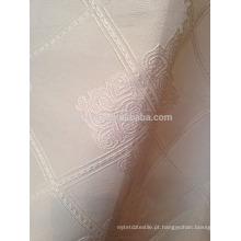 Nova chegada Modern Breve Estilo 100% poliéster quadrados forma jacquard cortina