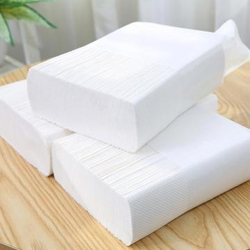 Commercial hotel guest bath paper hand towels