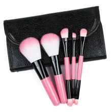 Conjunto de 5 pincéis para cosméticos por atacado Conjunto de pincéis de maquiagem para beleza dos produtos mais populares