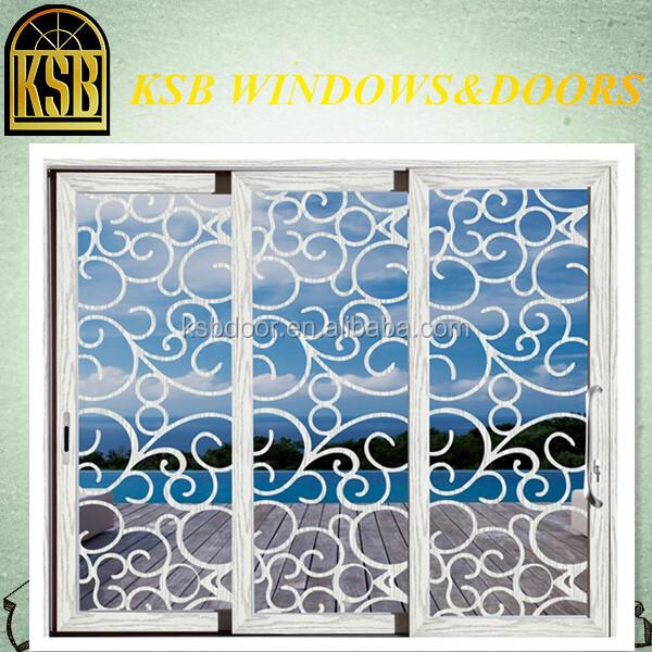 High-quality 120 broken bridge heavy sliding doors series with temper glass for house
